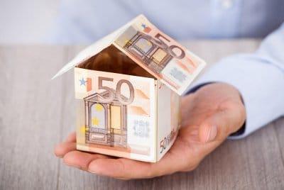 Geldhaus für Analyse